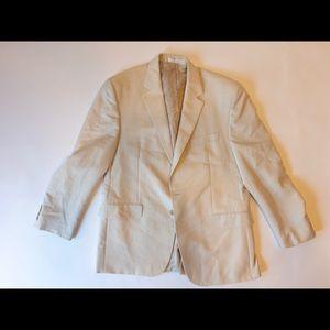 🐴👌🏻 Chaps Mens Sports Coat Suit Blazer SZ 42R